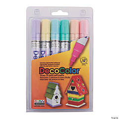 Marvy® Pastel Colors DecoColor™ Broad Tip Paint Markers