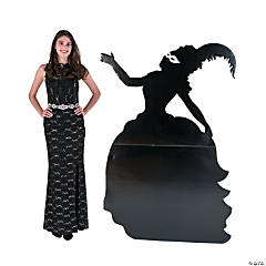 Masquerade Mademoiselle Silhouette Stand-Up