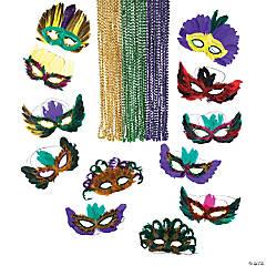 Masquerade Mask & Bead Assortment