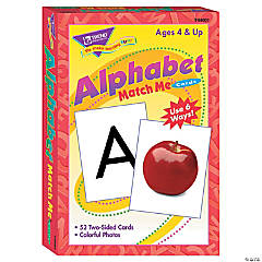 Match Me® Cards, Alphabet - 52 cards per pack, 6 packs