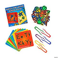 Match the Letter Learning Activity
