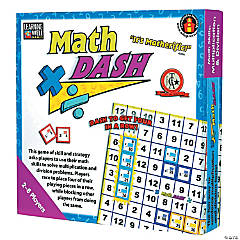 Math Dash Game, Multiplication & Division