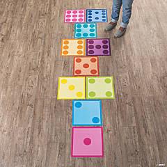 Math Hopscotch Floor Clings
