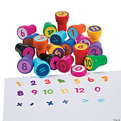 Math Number Stampers
