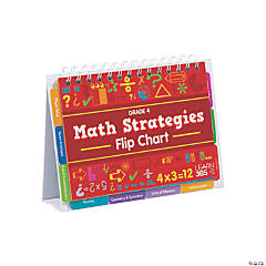 Math Strategies Flip Books - Grade 4