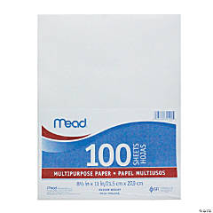 """""""Mead Multi-Purpose Typing Paper 100 Sheets, Set of 6 Packs"""""""