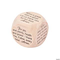 Mealtime Prayer Cube