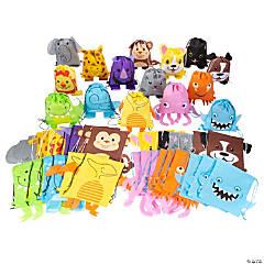 Medium Animal Drawstring Bag Assortment