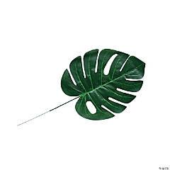 Medium Artificial Monstera Leaves