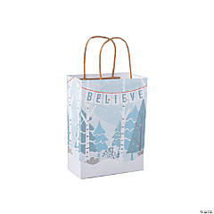 Medium Believe in Peace Gift Bags