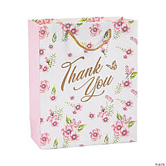 Medium Butterfly Floral Gift Bags