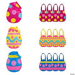 Medium Egg-Cellent Easter Egg Tote Bags