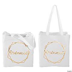 Medium Geo Bridesmaid Tote Bag