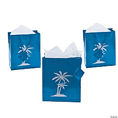 Medium Luau Gift Bags with Tags