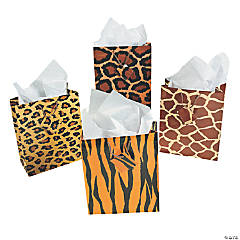 Medium Paradise Safari Gift Bags with Tags