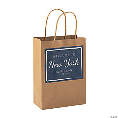 Medium Personalized Welcome To Gift Bags
