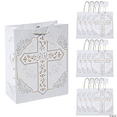 Medium Religious Cross Gift Bags