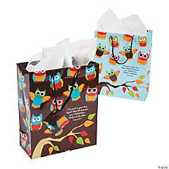 Medium Religious Owl Gift Bags