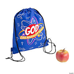 Medium Science VBS Drawstring Bags