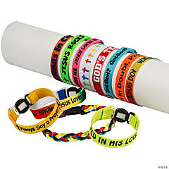 Mega Religious Friendship Bracelet Assortment