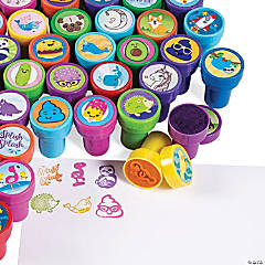 Mega Trendy Kids' Stampers Assortment - 100 Pc.