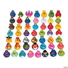 Mega Value Rubber Ducky Assortment - 600 Pcs.