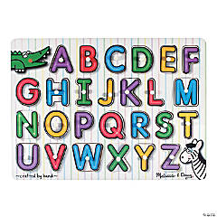 Melissa & Doug® Alphabet Peg Puzzle