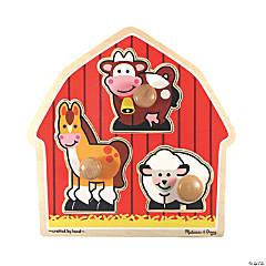 Melissa & Doug Barnyard Animals Jigsaw Puzzle, 12