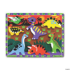 Melissa & Doug Dinosaurs Chunky Jigsaw Puzzle, 9