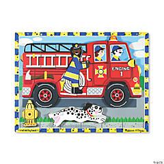 Melissa & Doug Fire Truck Jigsaw Puzzle, 9
