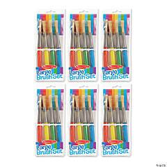 Melissa & Doug® Large Paint Brush Set, 24 count