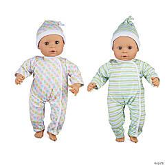 Melissa & Doug Mine to Love Twins Sebastian & Sofia Dolls