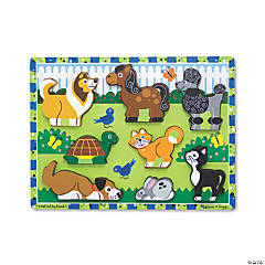 Melissa & Doug Pets Chunky Jigsaw Puzzle, 9