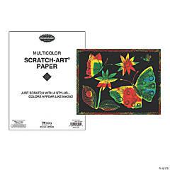 Melissa & Doug® Scratch Art Paper Multicolor, 50 Sheets