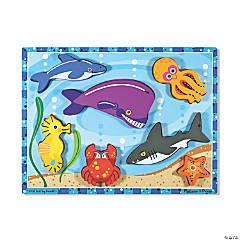 Melissa & Doug Sea Creatures Jigsaw Puzzle, 9