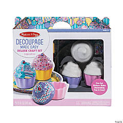 Melissa & Doug® Decoupage Cupcakes Kit