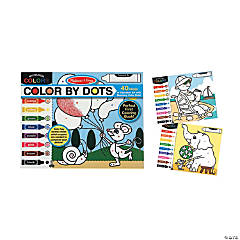 Melissa & Doug® Color By Dots Book