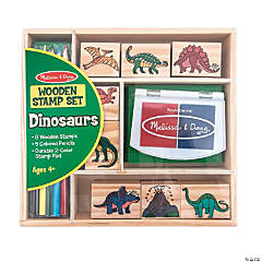 Melissa & Doug® Dinosaur Stamp Set