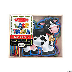 Melissa & Doug® Lace & Trace Farm Animals