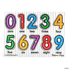 Melissa & Doug® See-Inside Numbers Peg Puzzle