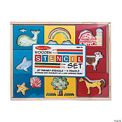 Melissa & Doug® Wooden Stencil Set