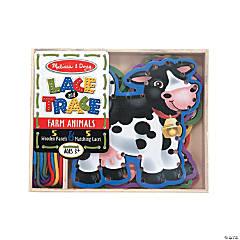 Melissa & Doug<sup>&#174;</sup> Lace & Trace Farm Animals