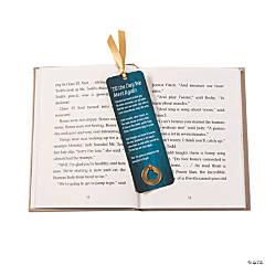 Memorial Bookmarks with Heart Token