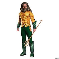 Men's Deluxe Aquaman Costume - Standard