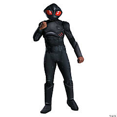 Men's Deluxe Black Manta Costume - Extra Large
