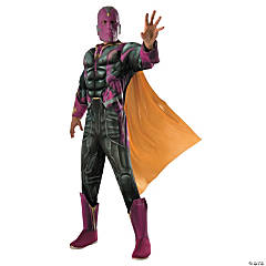 Men's Deluxe Muscle Chest Avengers: Infinity War™ Vision Costume - Extra Large
