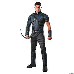 Men's Deluxe Muscle Chest Captain America: Civil War™ Hawkeye Costume - Standard