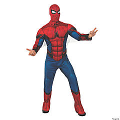 Men's Deluxe Muscle Chest Spider-Man™ Costume - XL