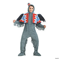 Men's Deluxe Wizard of Oz Winged Monkey Costume - Extra Large