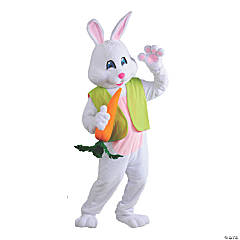 Men's Easter Bunny Costume with Headgear